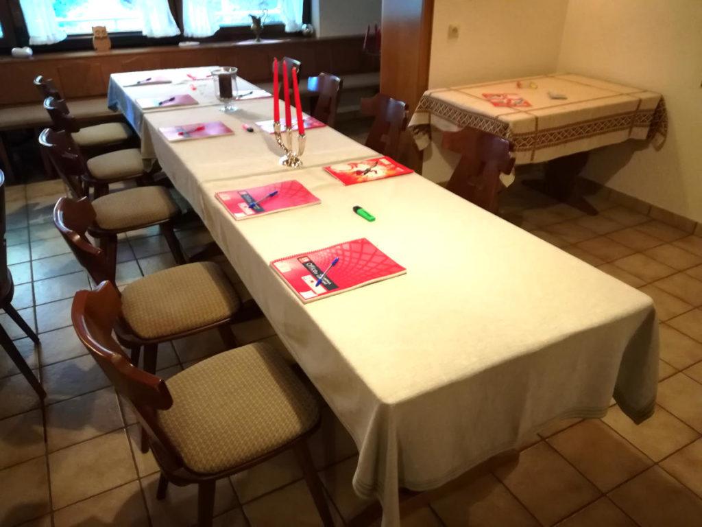 Feiern und Catering